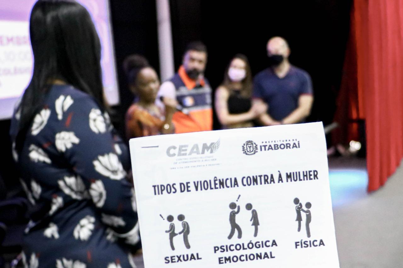 A palestra teve caráter alusivo ao Dia Internacional da Ação pela Igualdade da Mulher, celebrado no dia 6 de setembro